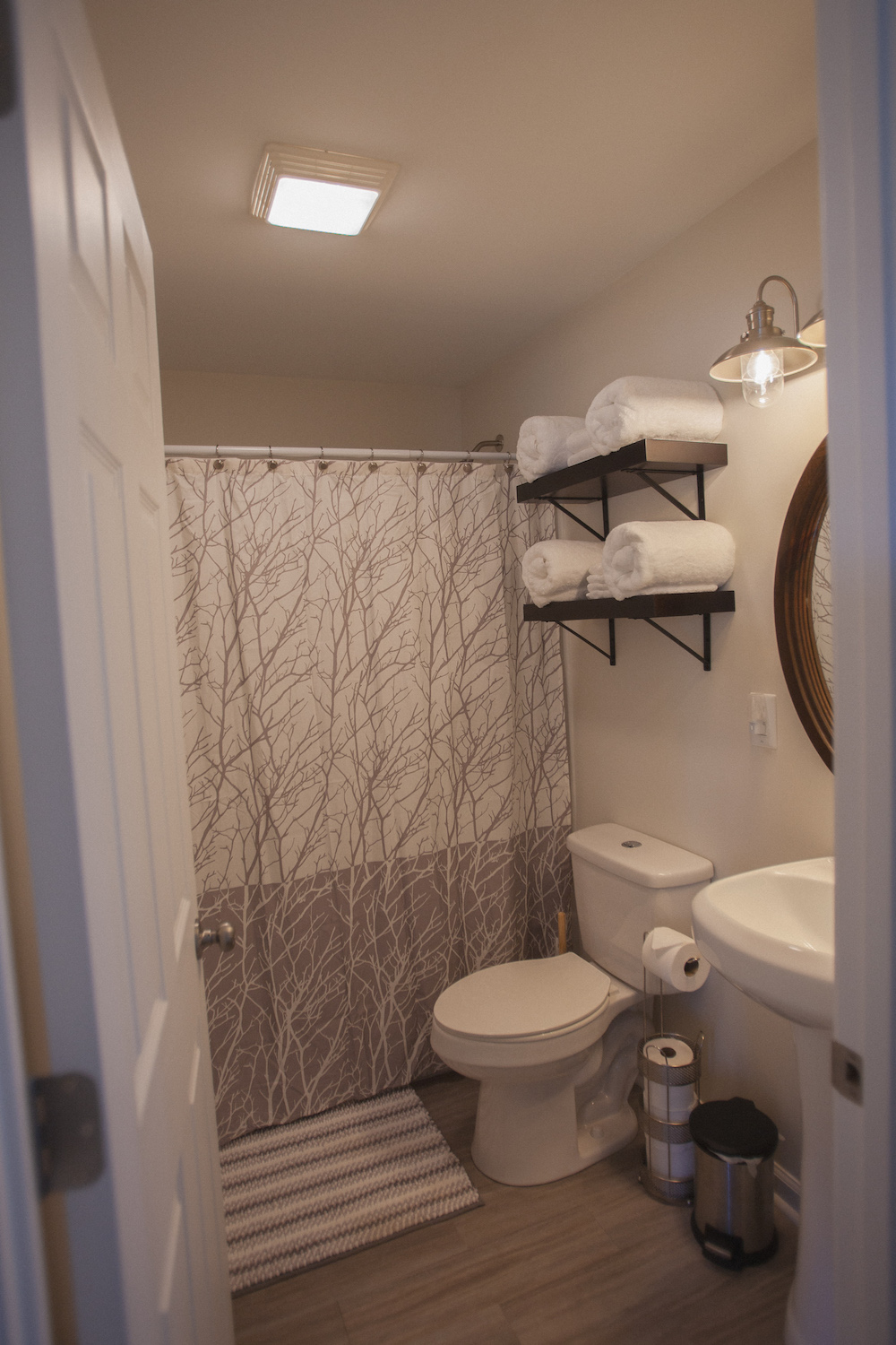 Bathroom in Cabin B