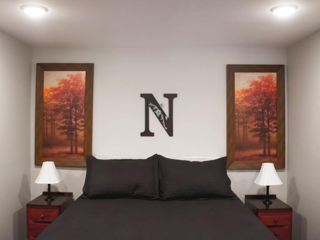 Relaxing Getaway Cabin with Comfortable Master Bedroom | Hohman Lake Rentals