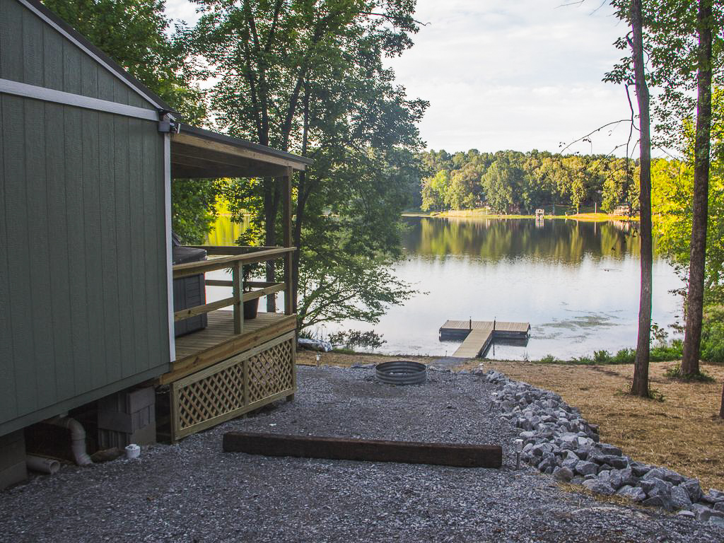 Dock at Hohman Lake | Hohman Lake Rentals